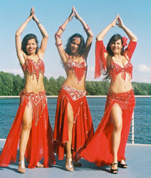 belly dance show events