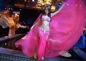 belly dance show casino